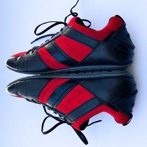 Hugo Boss Black Red Hybrid Low Profile Sneakers
